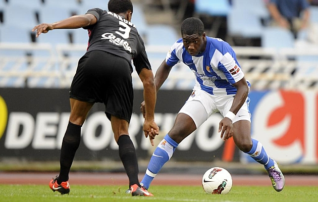 Jeffrey Sarpong leaves Real Sociedad
