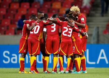 Ghana finished top of Group B of the 2013 Africa Cup of Nations on Monday night to seal a quarter-final showdown with Cape Verde.