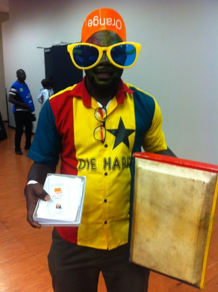 Dzobo is the third Ghanaian to win Fan-of-the-Match award at 2013 AFCON
