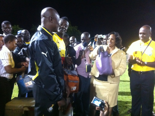 Mbombela Mayor wishes Black Stars well in Nations Cup bid