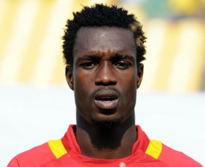 Ghana defender John Boye suffered what looked like a serious injury on Saturday at the Africa Cup of Nations.