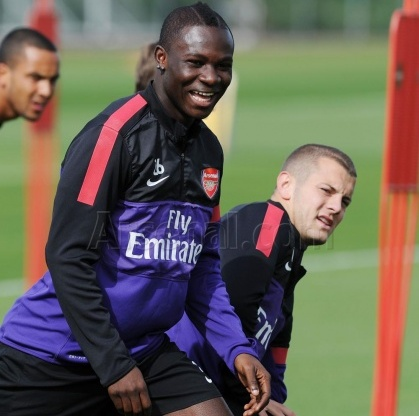 Ghana midfielder Emmanuel Frimpong is desperate to establish himself as a star for club and country – just like his pal Jack Wilshere.