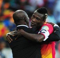 Ghana striker Asamoah Gyan sees World Cup similarities