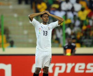 Ghana striker Jordan Ayew says the decision to leave him out of Ghana's 2013 Africa Cup of Nations squad is one of the reasons behind his decision to quit the national team.