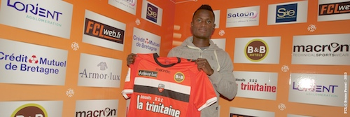 Ghana midfielder Abu wants to make progress at Lorient