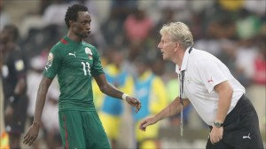 Burkina Faso coach Paul Put believes the Mbombela Stadium pitch will favour his side more than Ghana in their Africa Cup of Nations semi-final clash.