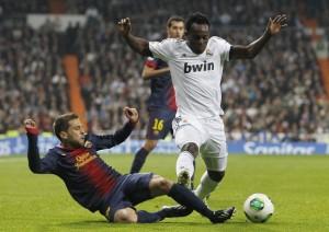 Video: Essien & Carvalho lose table tennis clash with Real Madrid team-mates Modric & Khedira