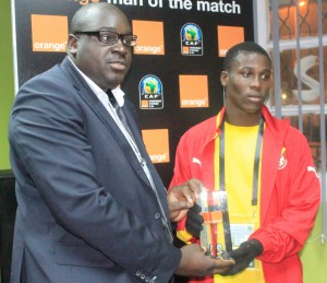 Ghana striker Ebenezer Assifuah has been named the best player of the 2013 Africa Youth Championship that ended in Algeria on Saturday.