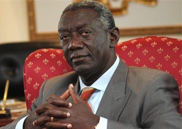 Ex-President John Kuffour commiserates with Asante Kotoko