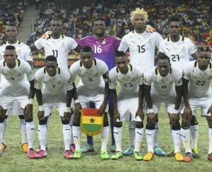Ghana's squad at the 2013 Africa Cup of Nations.