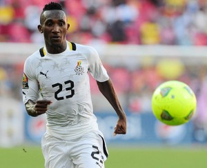 Harrison Afful is among three players expected to arrive in Ghana on Tuesday night
