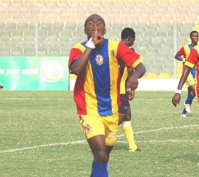 Hearts of Oak's in-form striker Mahatma Otoo