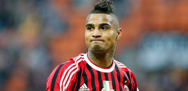 Kevin Prince Boateng 2013 Hairstyle Kevin prince boateng is paid 3