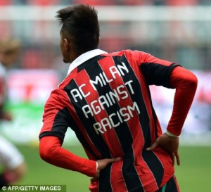 Boateng wants the issue ot racism tackled heads-on