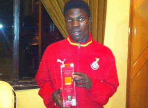 Francis Narh was named Man-of-the-Match in Ghana's 1-0 win over Benin