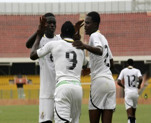 Football - 2012/13 Africa Youth U-20 Championship qualifiers - Ghana v Namibia - Accra