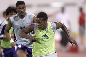 Ghana striker Asamoah Gyan will have to wait until Friday to potentially clinch his second UAE league title with Al Ain.