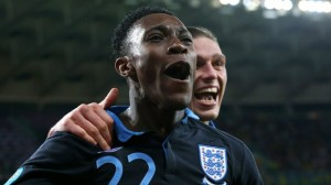 Danny Welbeck plays for England's Three Lions