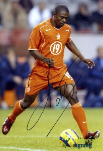 George Boateng played four international games for Holland