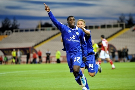 Jeffrey Schulpp scored for Leicester City on Friday
