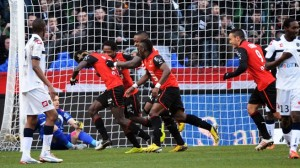 John Boye scored for Stade Rennes but they lost at Evian TG
