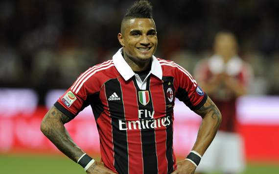 KP Boateng sends Italian rappers Booba, Club Dogo and Emis Killa on a tour of the San Siro