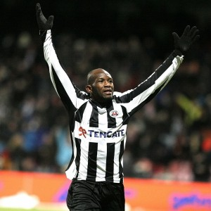 Kwame Quansah scored the opener from the spot for Heracles Almelo in Holland