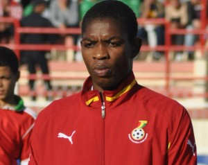 Ghana U20 captain Lawrence Lartey