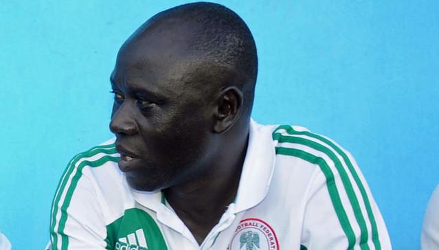 Nigeria U17 team coach Manu Garba
