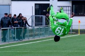 Razak Iddrisu played for Wolfsburg U19 side