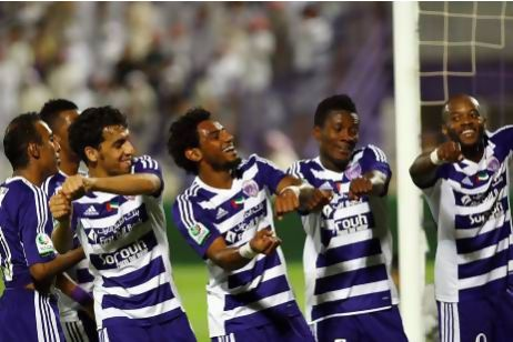 Ghana striker Asamoah Gyan has hailed the good team spirit in Al Ain that helped them to clinch the UAE league on Thursday night with four matches remaining.