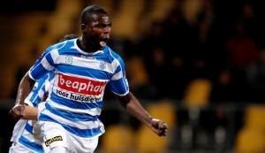 Video: Watch two goals scored by Ghanaian Benson in Dutch top-flight