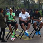 Video: Boateng brothers Kevin, Jerome and George reunited