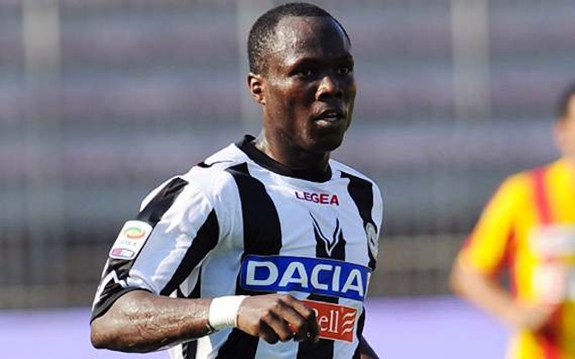 Emmanuel Agyemang-Badu will not be sold by Udinese this summer