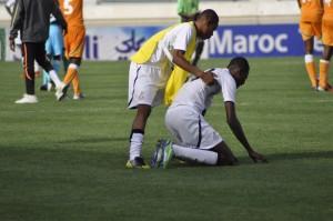 Ghana U17 players in tears