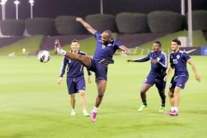 Ghana striker Asamoah Gyan's availability is a massive boost ahead of Tuesday's Asian Champions League meeting with Al Rayyan in Qatar.