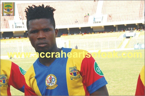 Robin Gnagne of Hearts of Oak wants to play for Ghana