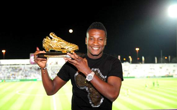 Asamoah Gyan has set a new UAE Pro-League record