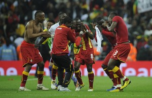 Ghana's Black Stars have enjoyed tremendous support from Kumasi fans