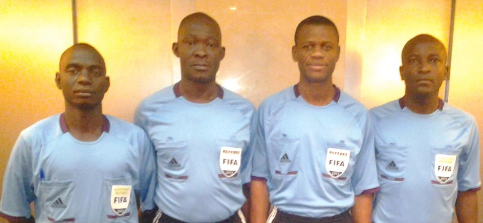 Four Ghanaian referees will handle South Africa and CAR WC qualifier