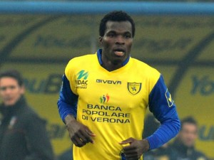 Chievo Verona are close to landing Ghana midfielder Isaac Cofie on a permanent deal