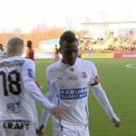 Video: Ghana striker David Accam suffers racist abuse in Sweden