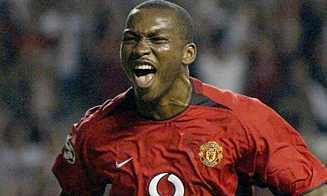 Eric Djemba-Djemba never made the cut at Manchester United