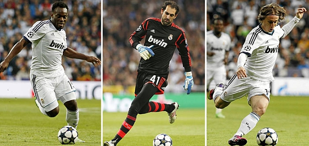 Essien, Diego Lopez and Luka Modric are the only allies of Jose Mourinho
