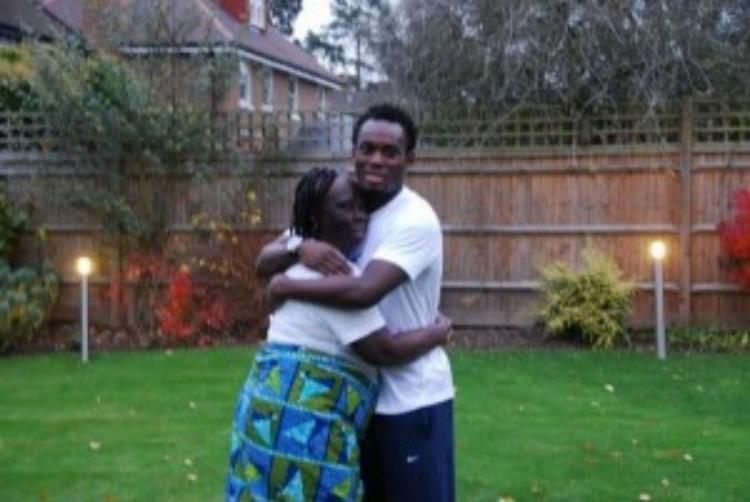 Michael Essien celebrates mum on 'Mothers Day'