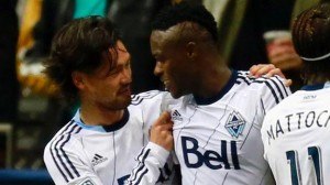 Gershon Kwoffie scored for Vancouver Whitecaps