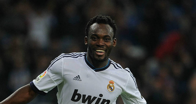 Michael Essien is now a right-back at Real Madrid.