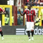 VIDEO: Muntari stole the ref's yellow card & booked Balotelli for shirt-removing celebration