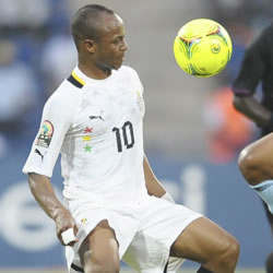 Ghana international Andre Ayew is hoping to replicate his father's heroics when he helped French giants Marseille to win the 1993 Champions League.