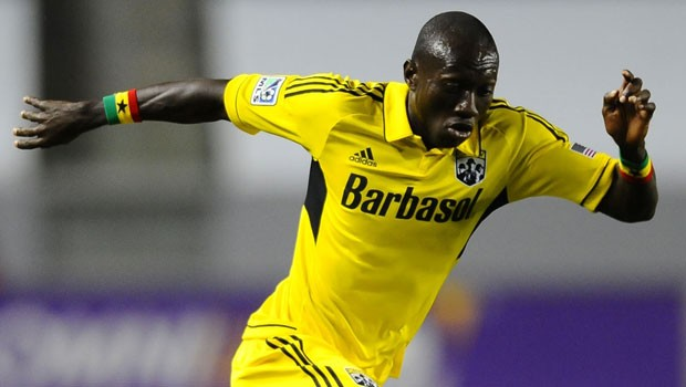 Dominic Oduro scored the only goal for Columbus Crew who won 1-0 at Toronto FC.